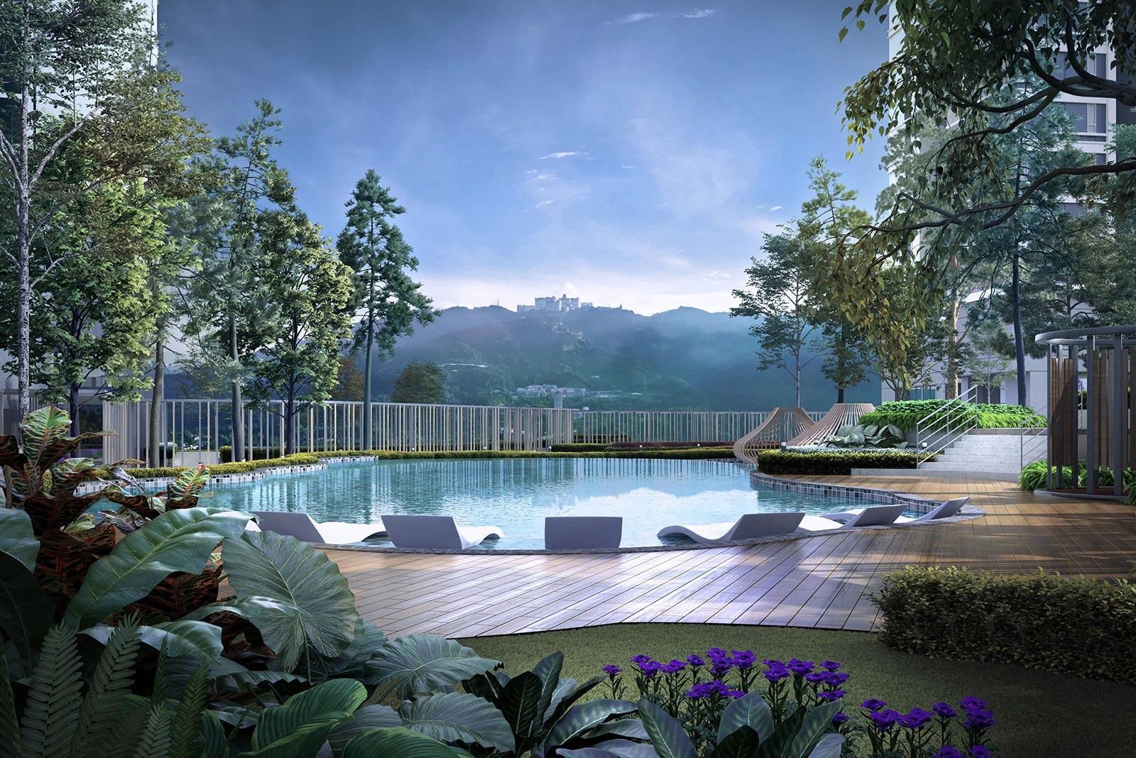 Pool - Tropicana Grandhill - Genting Highland