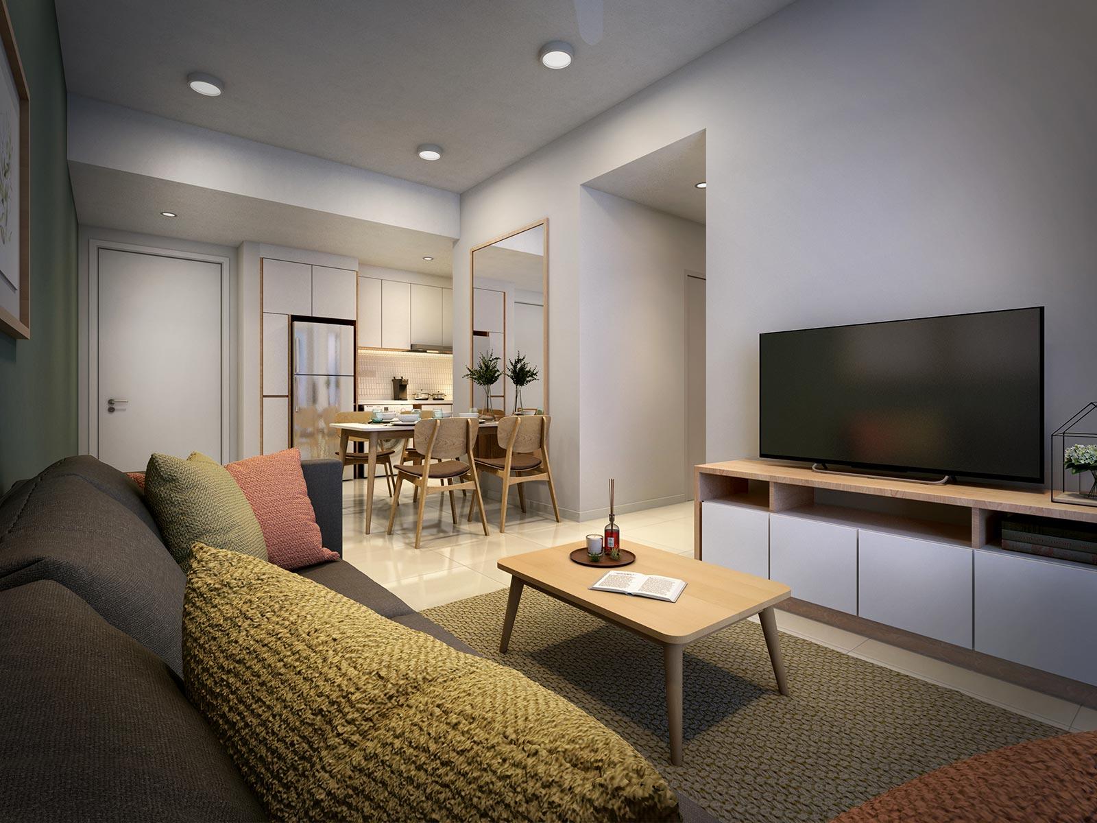 Living Room - Tropicana Grandhill - Genting Highland